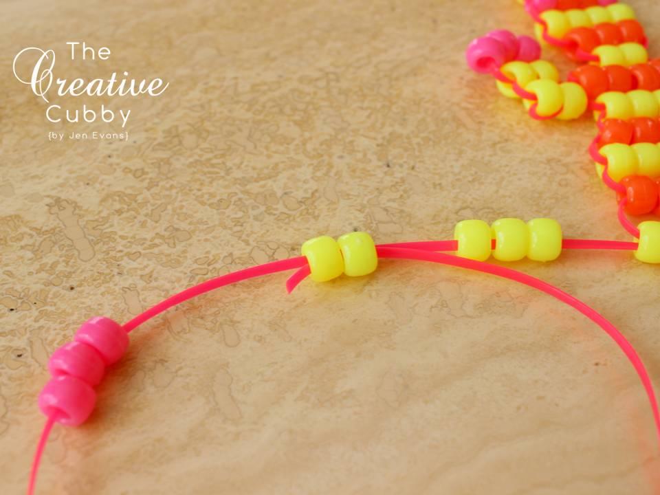 The Creative Cubby Beaded Lizards