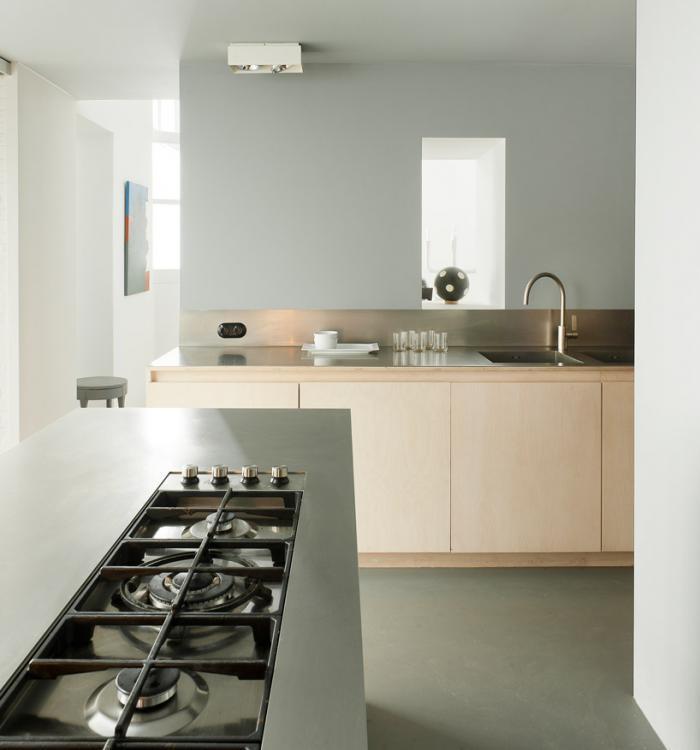 10 Diseños de cocinas sin muebles altos - Kansei Cocinas | Servicio ...
