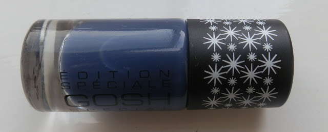 Gosh Limited Edition 618 Tilted Blue Nail Polish Swatches