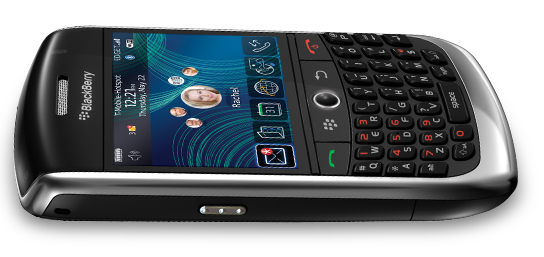 Blackberry Curve 3G ( RIM ) Slim Smartphone Review ...