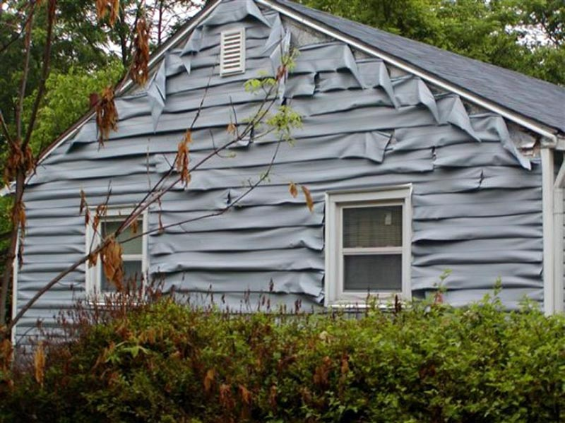 Abc seamless home specialists vinyl siding the bad for Cheap exterior siding options