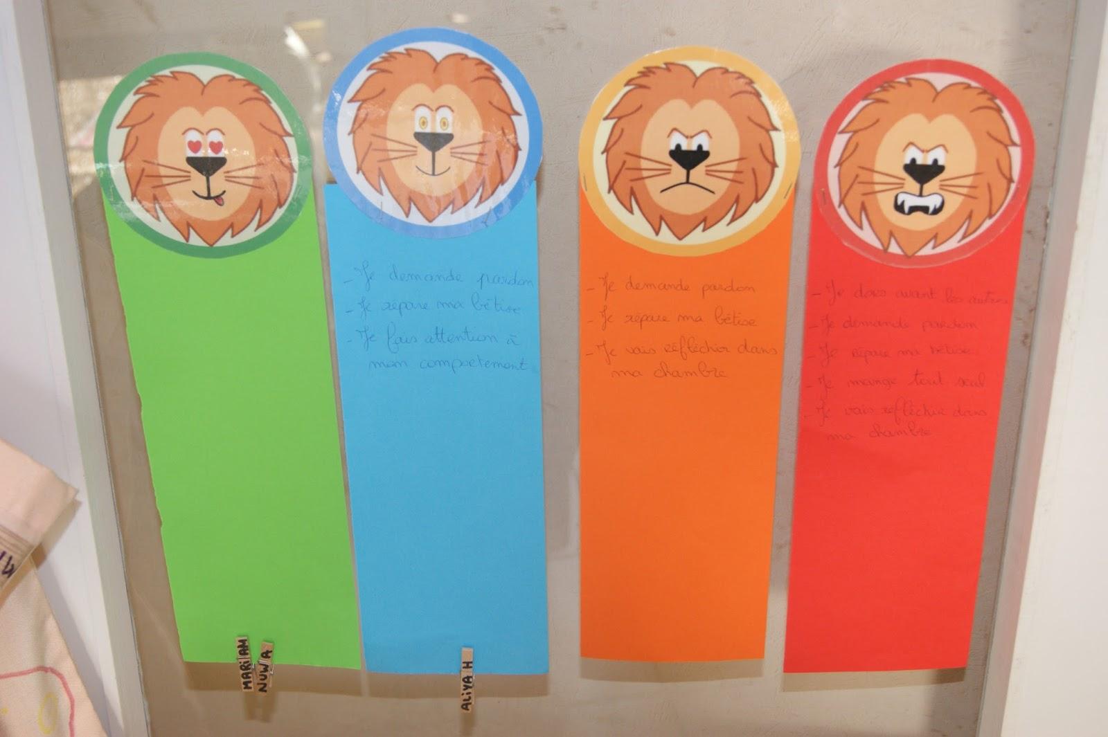 Populaire Laura George activités pour mamans et pour enfants.: Le lion du  VE46