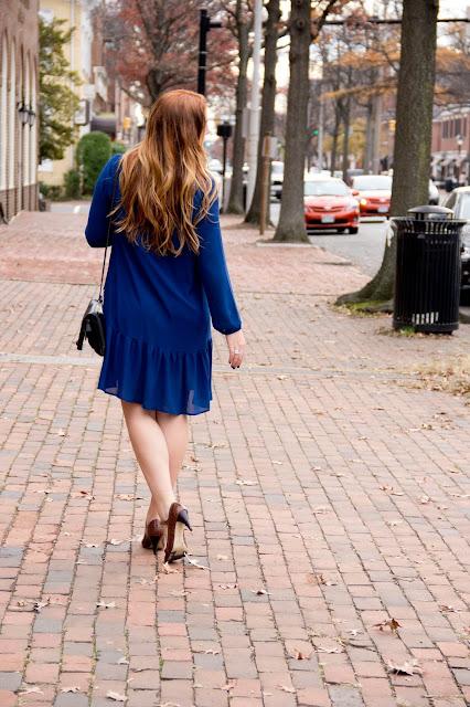 Style Blog Lipstick & Chiffon