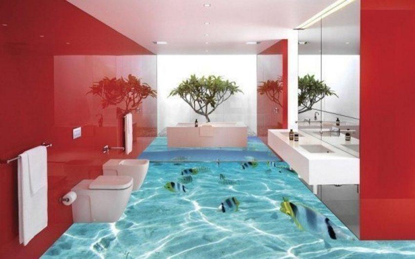 3D Floor Ocean 4