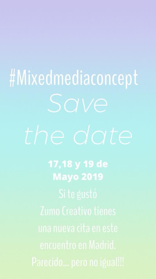 Yo voy al #Mixmediaconcept