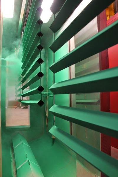 Talleres lumbreras pintura electrost tica para metales - Pintura para metales ...