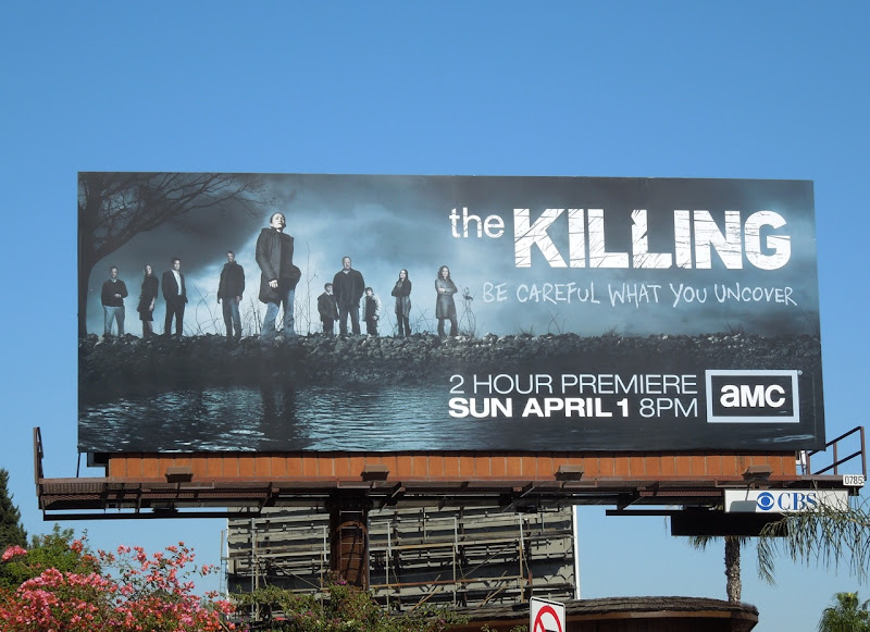 The Killing season 2 billboard