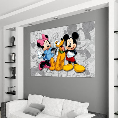 Murales infantiles disney mickey mouse