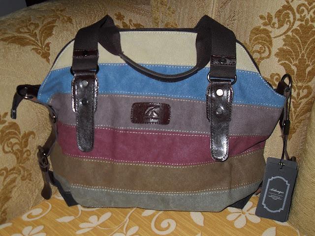 aidonger tela borsa a tracolla borsetta shopper multicolore