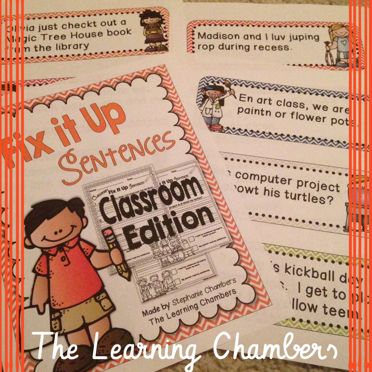 http://www.teacherspayteachers.com/Product/Classroom-Fix-It-Up-Sentences-Starter-Pack-Freebie-1169585