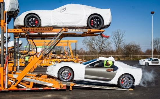 2015 Chevrolet Corvette Z06 Shipping to Dealers
