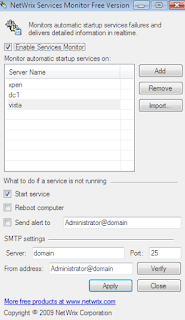 Download NetWrix Services Monitor 2.0.44