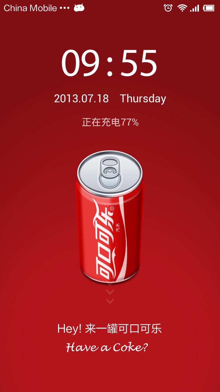 Xiaomi MIUI - Cola-Cola Theme
