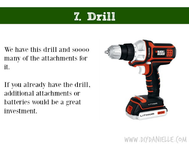 Holiday DIY Gift Guide: Drill