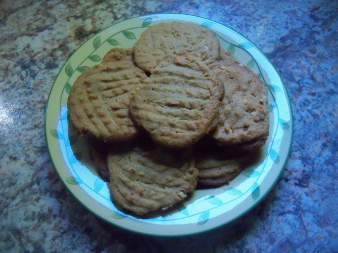 My Scary Good Peanut Butter Cookies