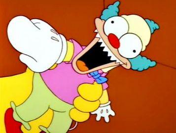 Anthony 39 s corner los doce mejores segmentos de halloween de los simpson - Simpson le clown ...