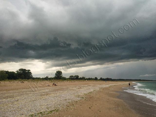 Storm over Black sea