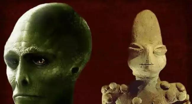 Αγαλματίδια 7000 ετών με ανθρωπόμορφες φιγούρες και χαρακτηριστικά σαύρας