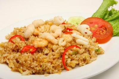 Resep Nasi Goreng Pedas Resep Nasi Goreng Seafood