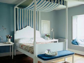 #2 Blue Bedroom Design Ideas