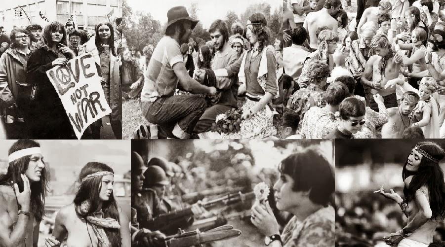Sexo hippie en los 60 s