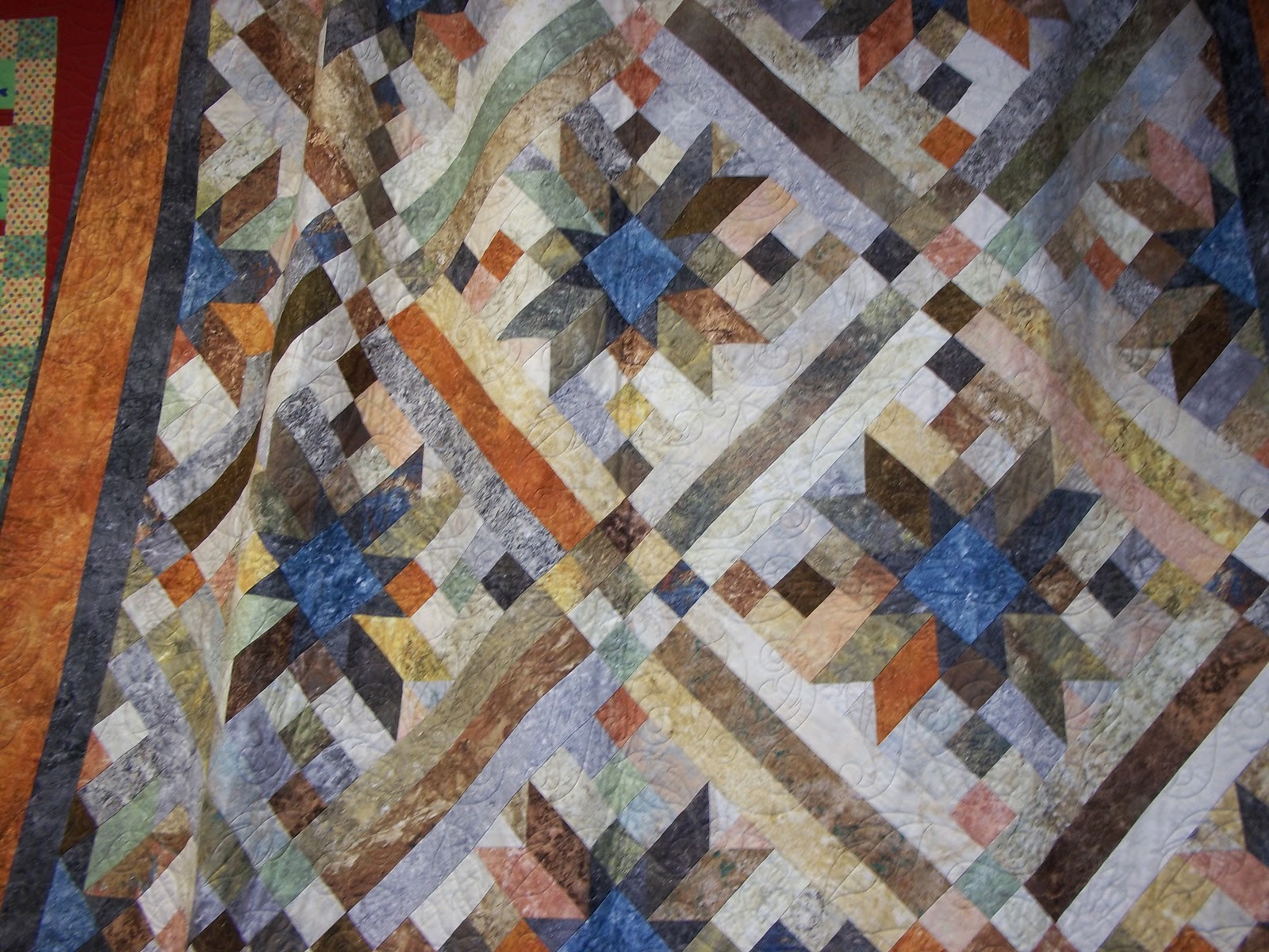 Quilt Patterns For Stonehenge Fabric : Sharp Quilts: Block Therapy Trunk Show