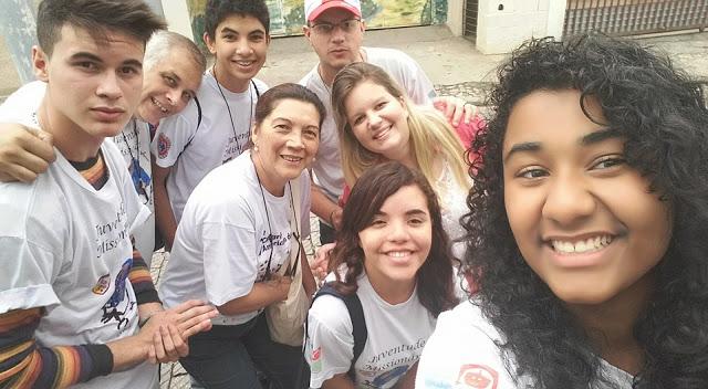 JM da Diocese de Guarulhos participa de Missão na Comunidade Bom Jesus