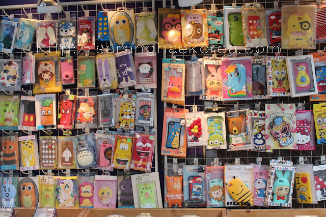 The cute cellphone cases in Korea