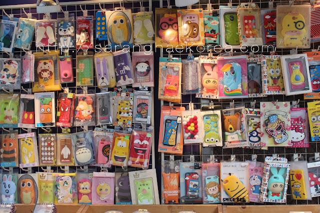 The cute cellphone cases in Korea