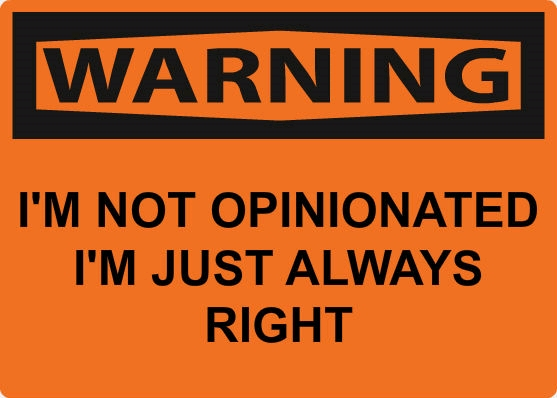 Opinionated Me