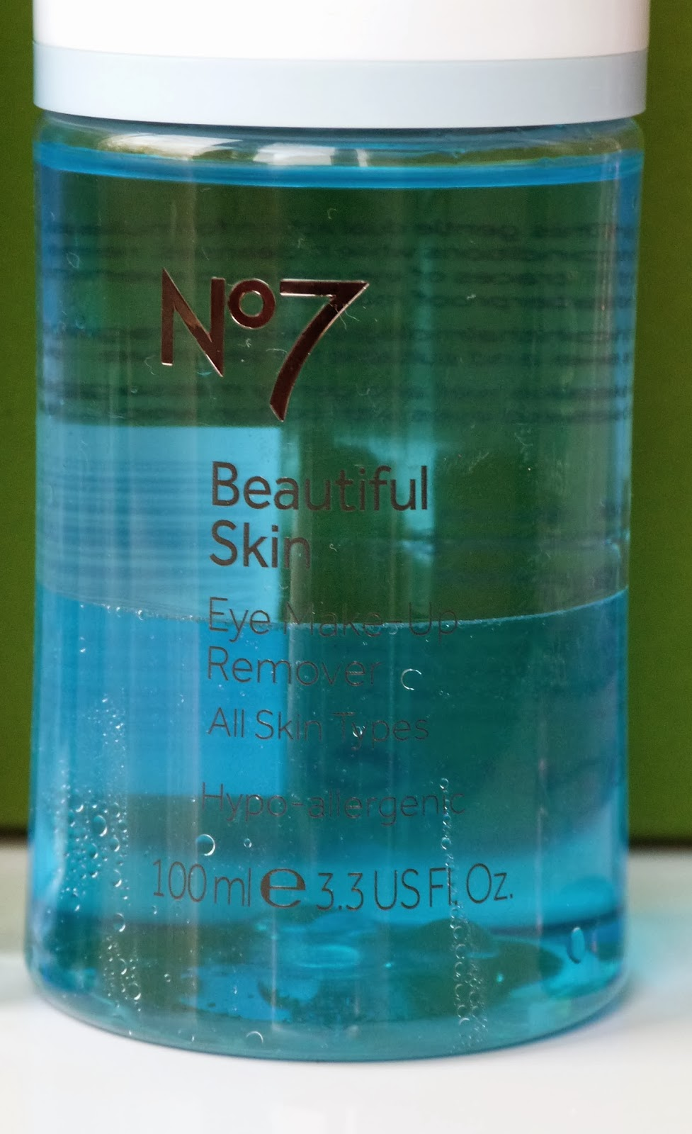 No 7 Beautiful Skin Eye Make Up Remover