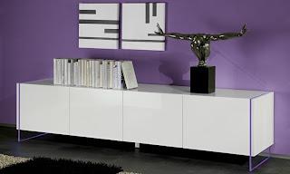 Credenza Moderna Vetro : Madie moderne design e vetro arredano il vostro soggiorno