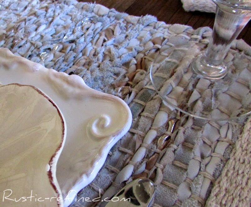 Fall Leaves Tablescape @ Rustic-refined.com