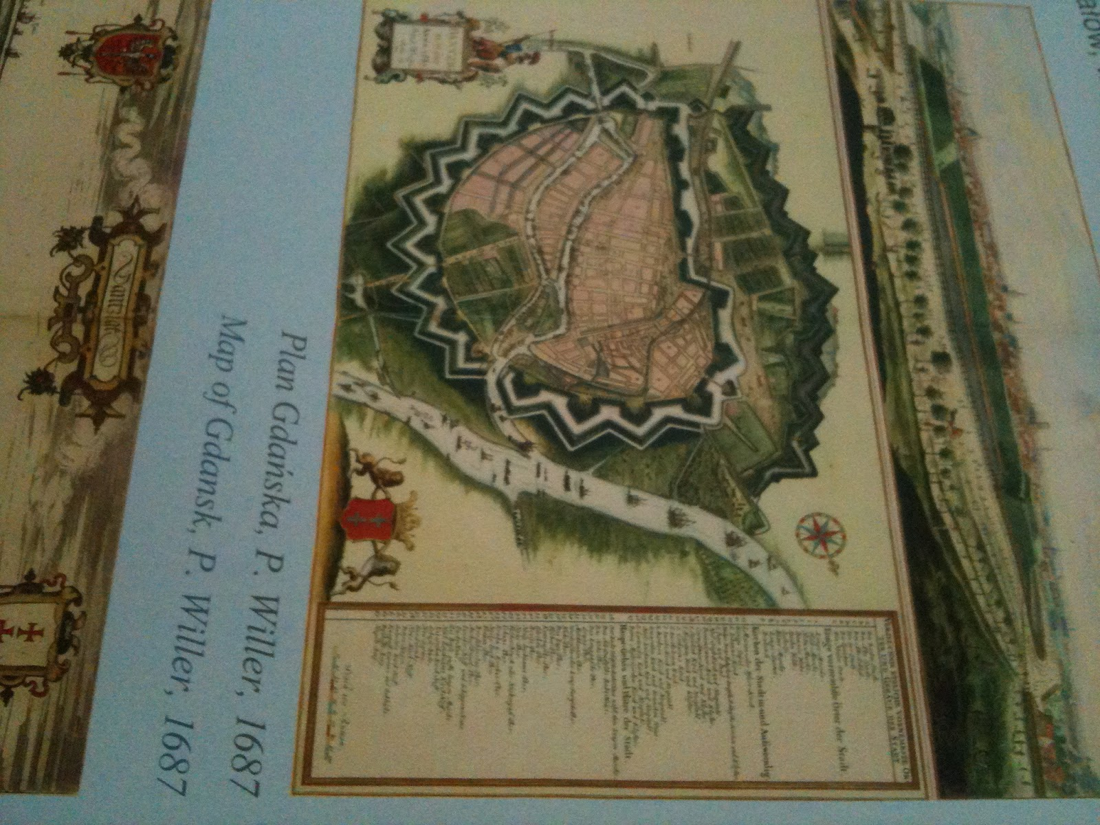extensive moat system of gdansk circa 1687