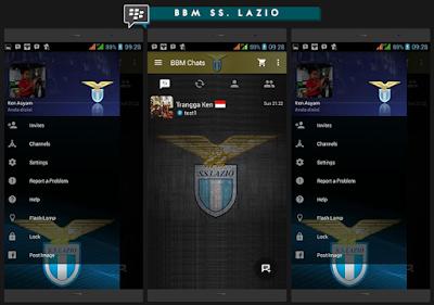BBM MOD SS Lazio FC Versi 2.10.0.31 Apk