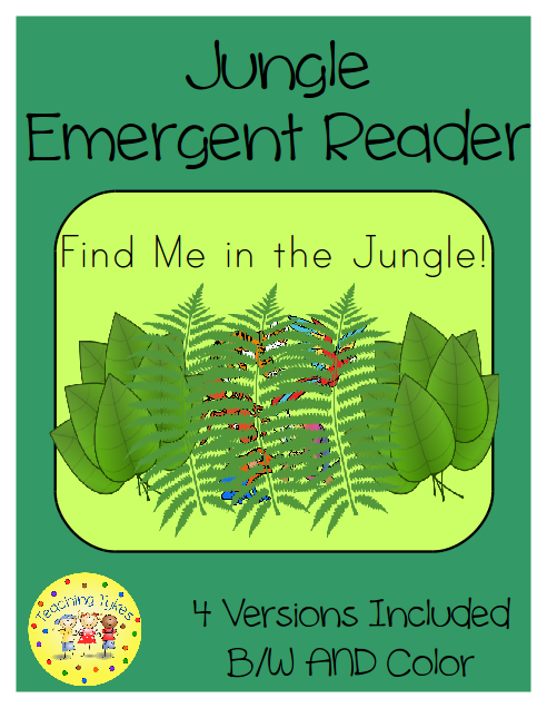http://www.teacherspayteachers.com/Product/Jungle-Emergent-Reader-Common-Core-Aligned-1573494