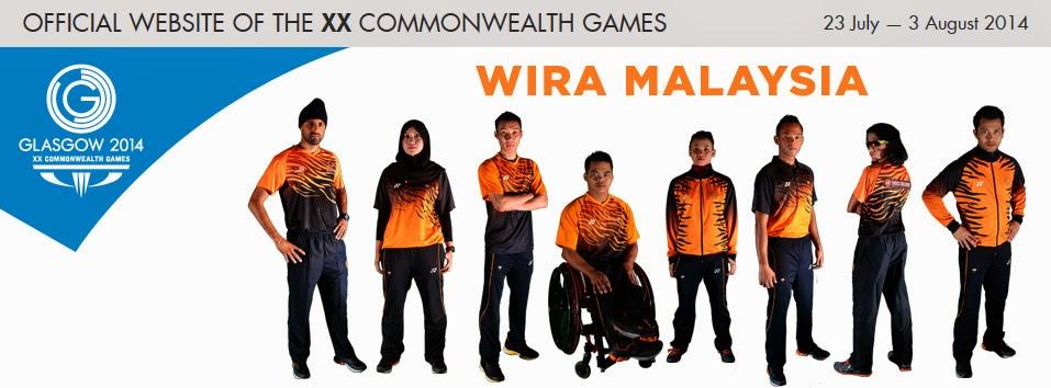 Team Malaysia | Sukan Komanwel Glasgow 2014