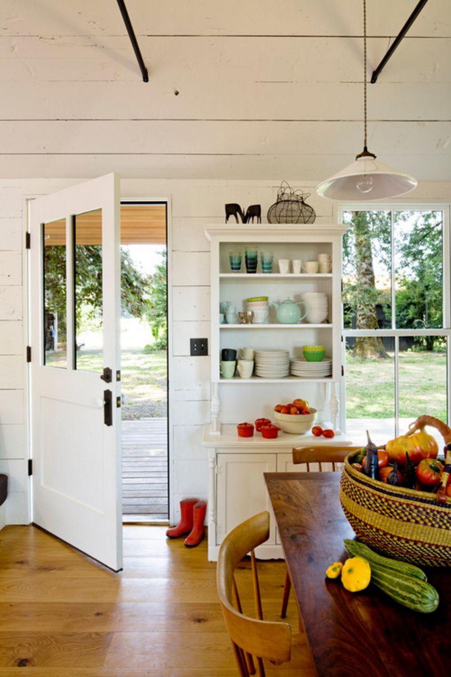 layout dapur akses halaman belakang idaman