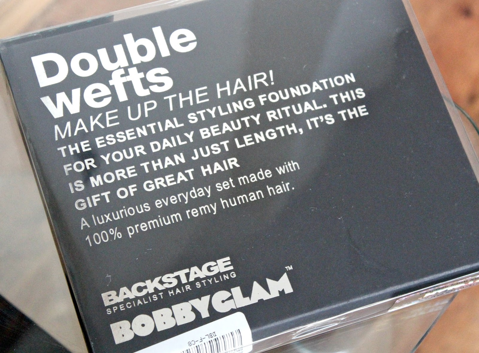 Review Bobby Glam Double Weft Hair Extensions Couture Girl