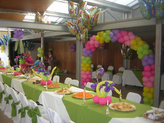 Decoraci n con globos fiestas infantiles decoraci n de - Adornos para una fiesta de cumpleanos ...