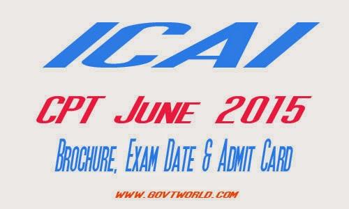 ICAI CPT June 2016