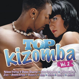 Capa CD Top Kizomba Vol.2 (2013) Baixar Cd MP3