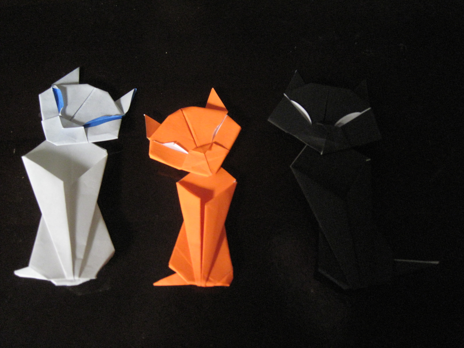 Origami Maniacs Origami Cat