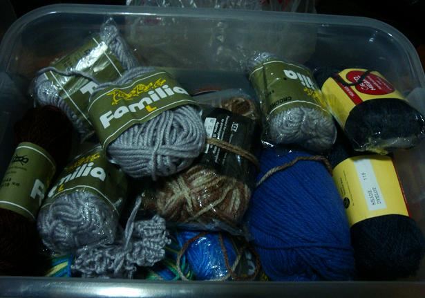 Yarn in a box... in a box?