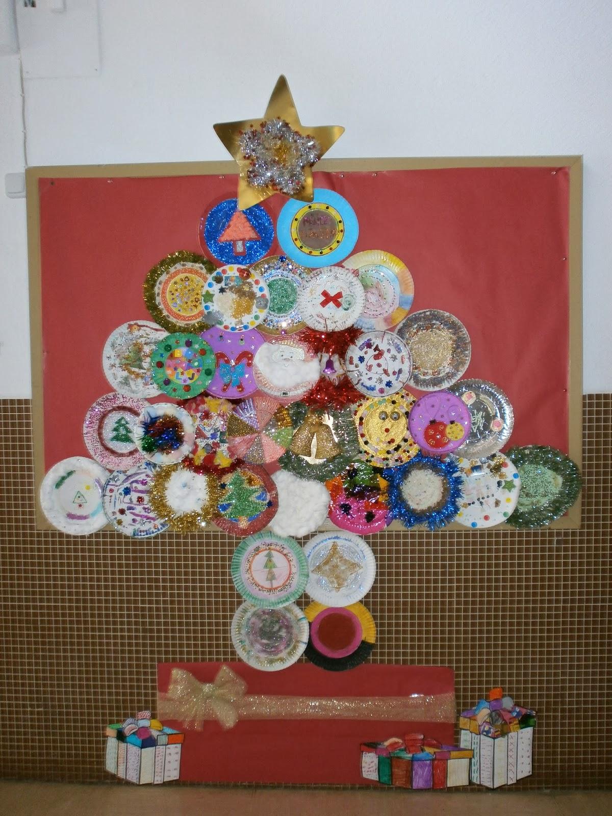 Ceip crist bal col n de sax diciembre 2013 - Decoracion navidad infantil ...