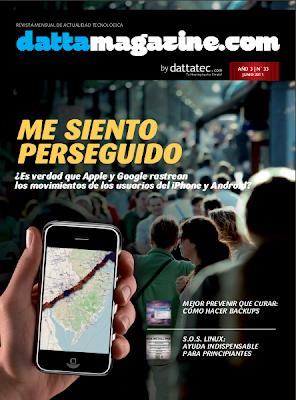 Imagen de la portada de DattaMagazine