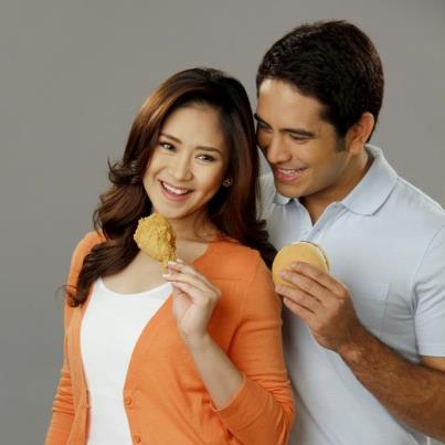 Sasa and Gege Together at Last in Jollibee TVC