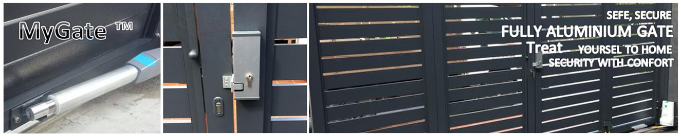 Fully aluminium gate johor bahru skudai iskandar kluang batu pahat segamat melaka seremban senawang