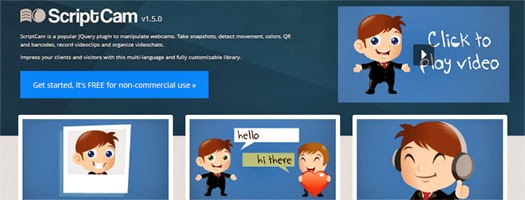 12+ jQuery Online Web Camera Plugins and Tutorials