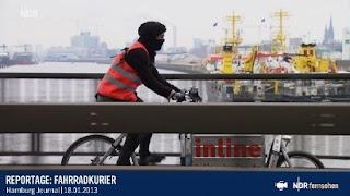 Reportage: Fahrradkurier
